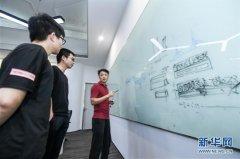 在位于深圳市罗湖区的视效创意公司点石数码,设计师在创意阶段进行