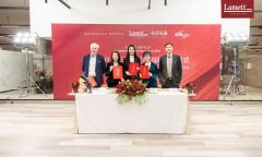 Lamett乐迈签约MD蒙泰设计 开启2021石晶大家居时代