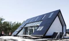 乐迈石晶新型材料助力2021国际太阳能十项全能竞赛CCMH斜屋落成